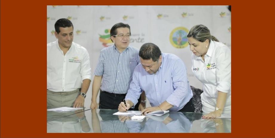 Gobernación y Alcaldía, unidos para diseñar un plan modelo de salud en Cartagena y Bolívar