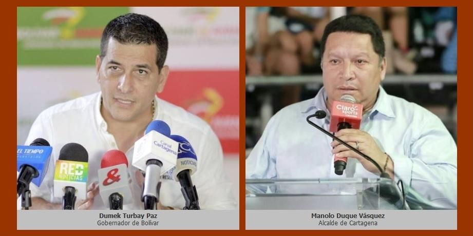 El gobernador de Bolívar y el alcalde de Cartagena elevan sus voces contra abusos de Electricaribe