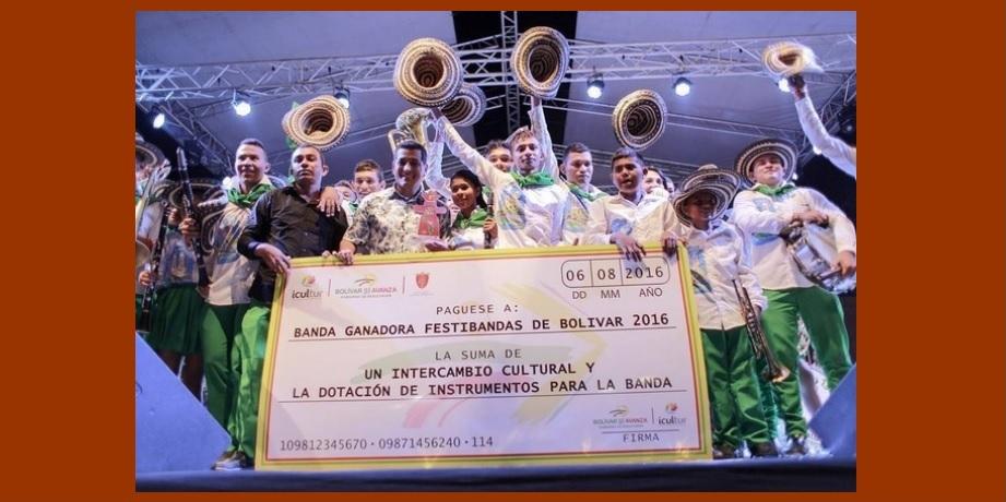 Y la gran ganadora del Festibandas 2016 fue… '¡la banda 13 de Diciembre de Magangué!