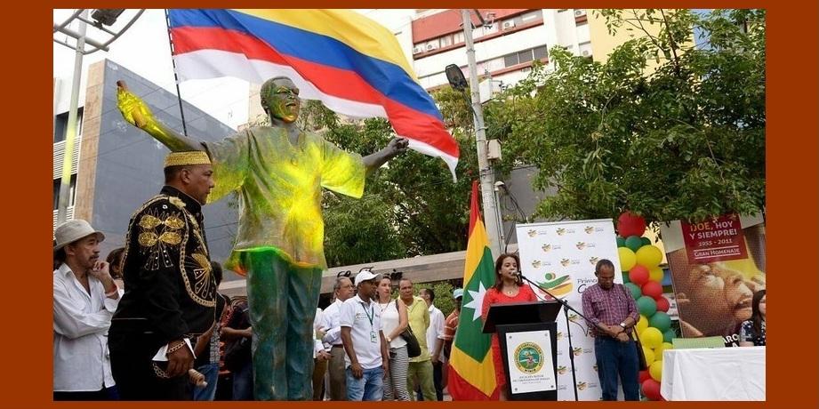 ¡El Joe vive!: su estatua regresó a la remozada plazoleta que lleva su nombre