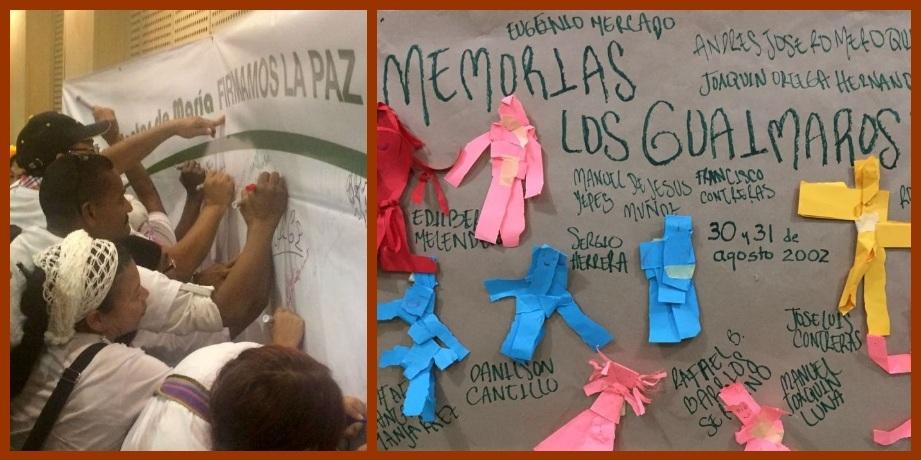 En los Montes de María recuerdan a las víctimas de la masacre de Los Guáimaros