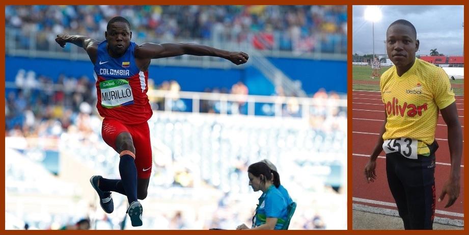 Jhon Murillo, atleta de Bolívar, estuvo a un tris de obtener un bronce en triple salto masculino