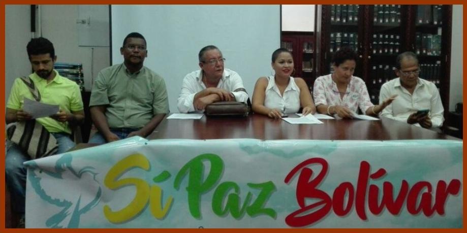 Nace colectivo 'Red Sí Paz Bolívar' para promover el voto por el Sí en el plebiscito