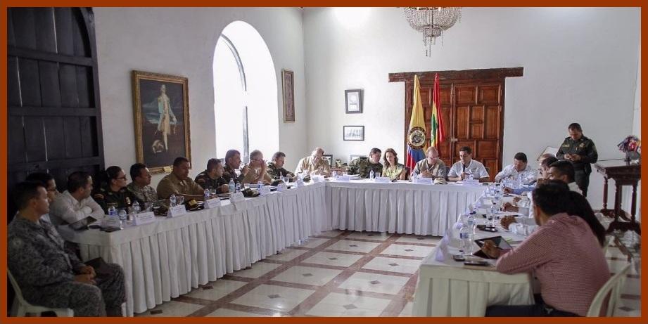 Gobiernos nacional y departamental refuerzan policial y militarmente a Cartagena