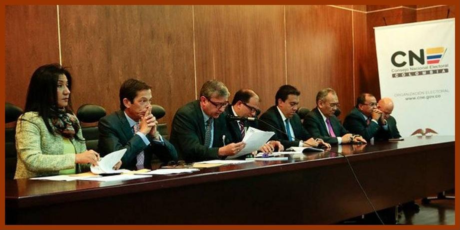 Magistrados del CNE inician en Cartagena de Indias pedagogía sobre el plebiscito