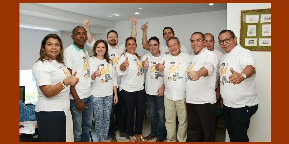 La refrendación del Acuerdo de Paz une en Bolívar a los miembros de los partidos