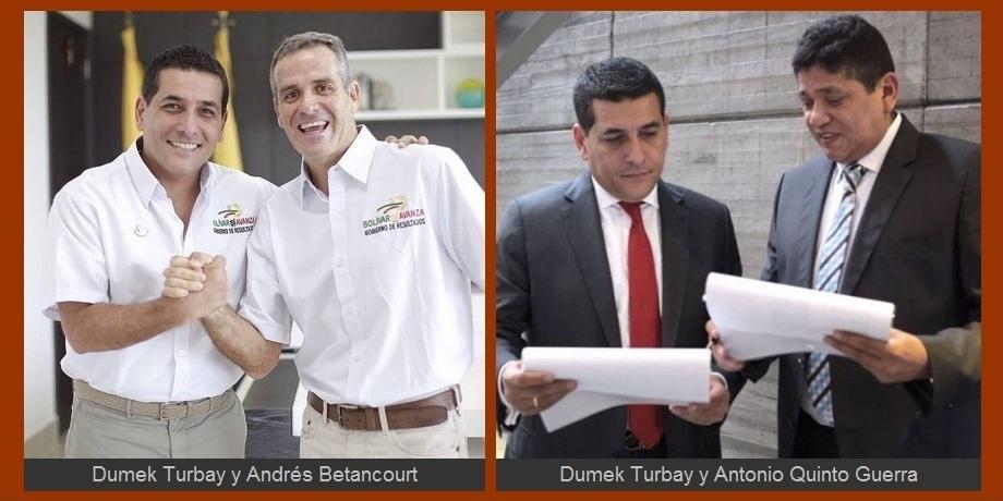 Los 'ex' que Sí Avanzan en el gobierno de Dumek Turbay Paz