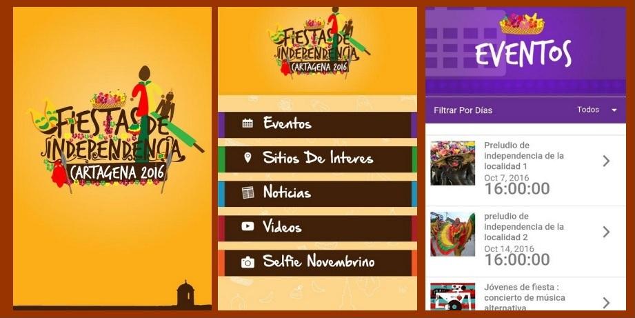 Las Fiestas de la Independencia ya tienen su aplicativo móvil «para que nadie se las pierda»