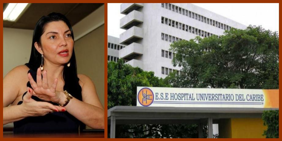 Por presunta intermediación laboral sancionan al Hospital Universitario del Caribe