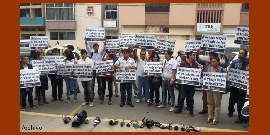 Periodistas de Cartagena, solidarios con colegas de RCN agredidos en Turbaco