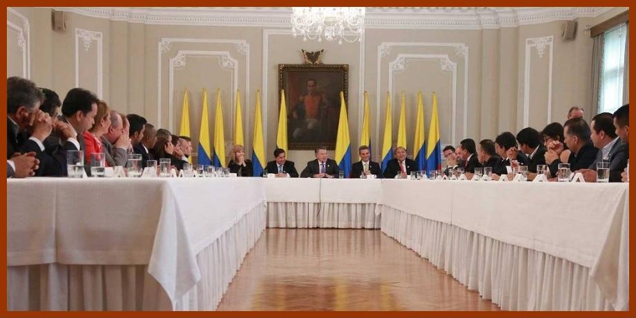 Gobernadores, comprometidos con la consolidación de la Paz de Colombia