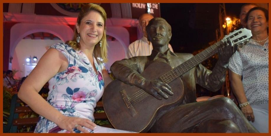 El maestro Adolfo Mejía Navarro, eterno en el Parque de San Diego