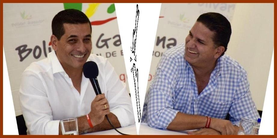 Dumek Turbay y Juan Carlos Gossaín, ¿de aliados a contradictores?