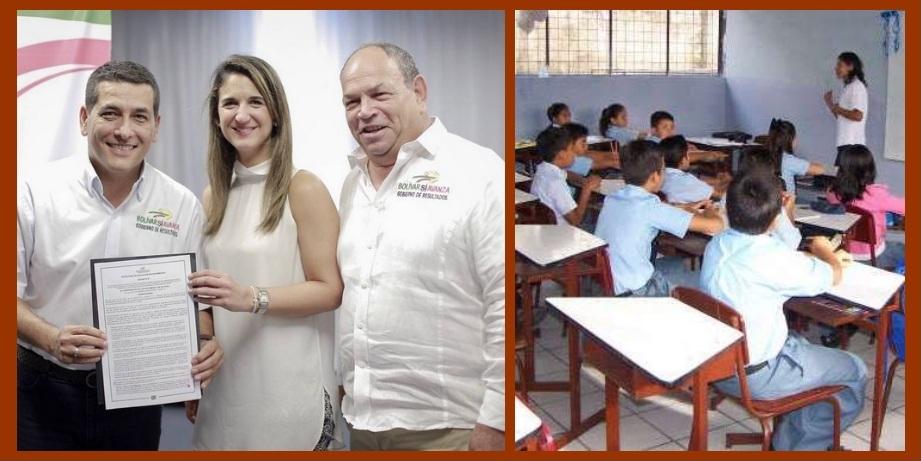Fin de la educación contratada en Bolívar, una de las noticias del año