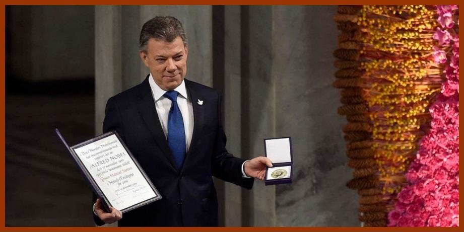 En Cartagena y Bolívar también se celebró la entrega del Nobel a Santos