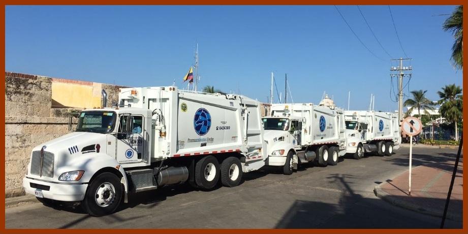 Tres modernos compactadores, el aguinaldo de Promoambiental…