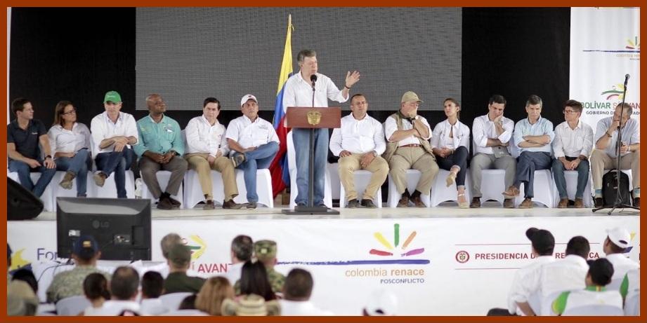 En Achí, la Presidencia pone en marcha proyectos para el postconflicto