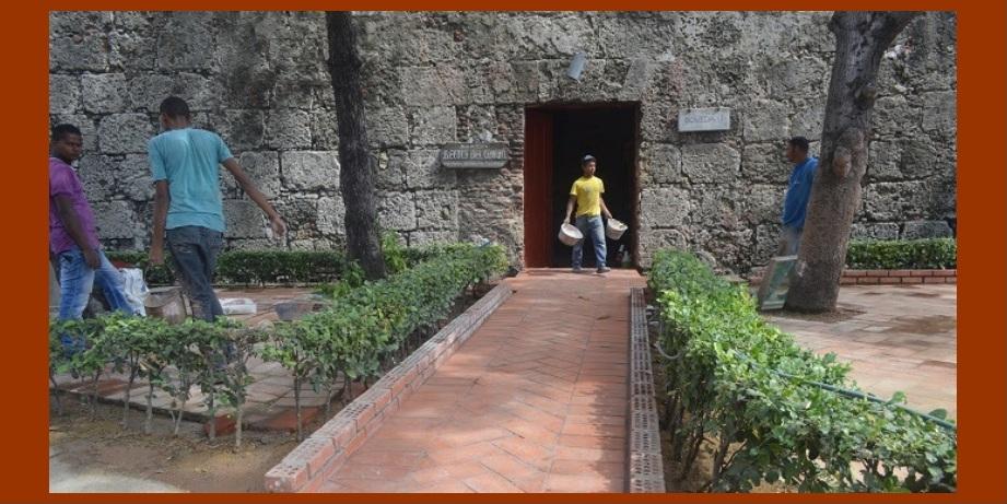 La Escuela Taller Cartagena de Indias recupera integralmente la 'Reculá del Ovejo'