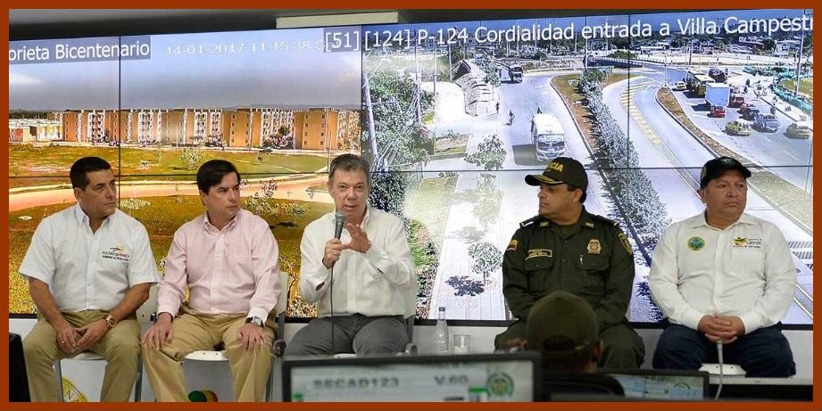 Con 609 cámaras nuevas, Cartagena potencia su capacidad para combatir la delincuencia