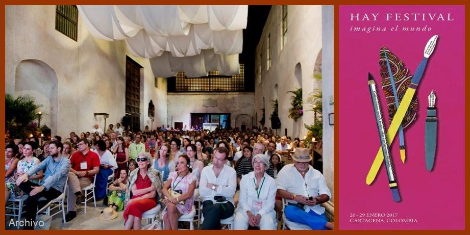 Desde hoy y hasta el próximo 29, vive la XII edición del Hay Festival Cartagena