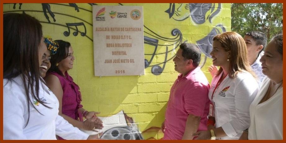 Biblioteca Juan José Nieto, una herramienta para combatir la pobreza y la desigualdad