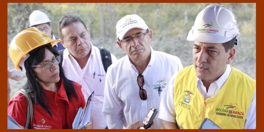 Enrique Chartuni González, nuevo secretario de Infraestructura de Bolívar