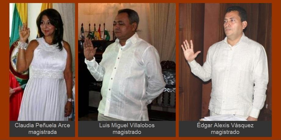 Magistrados Villalobos y Vásquez dejarían en firme elección del personero William Matson