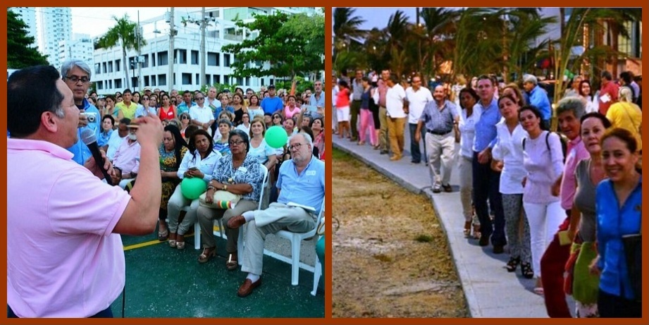 Comunidad, en acuartelamiento de 1er. grado contra marina en Castillogrande