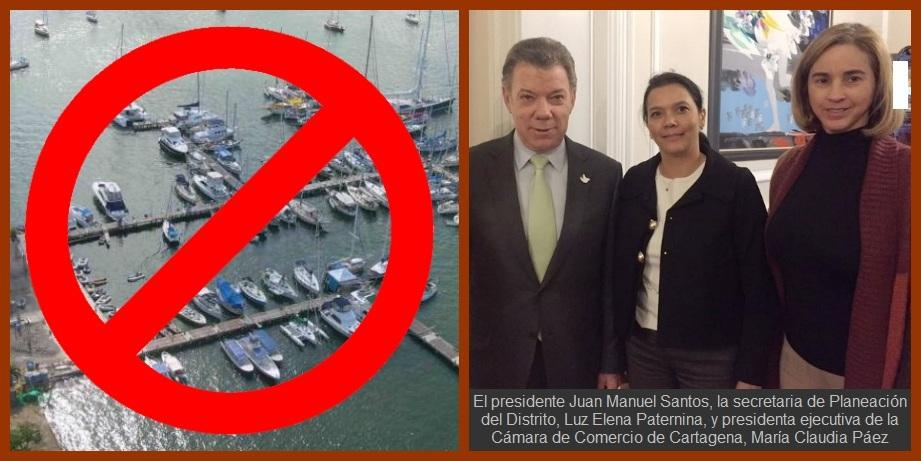 Probado: la unión sí es la solución; Santos atiende clamor ciudadano sobre marinas