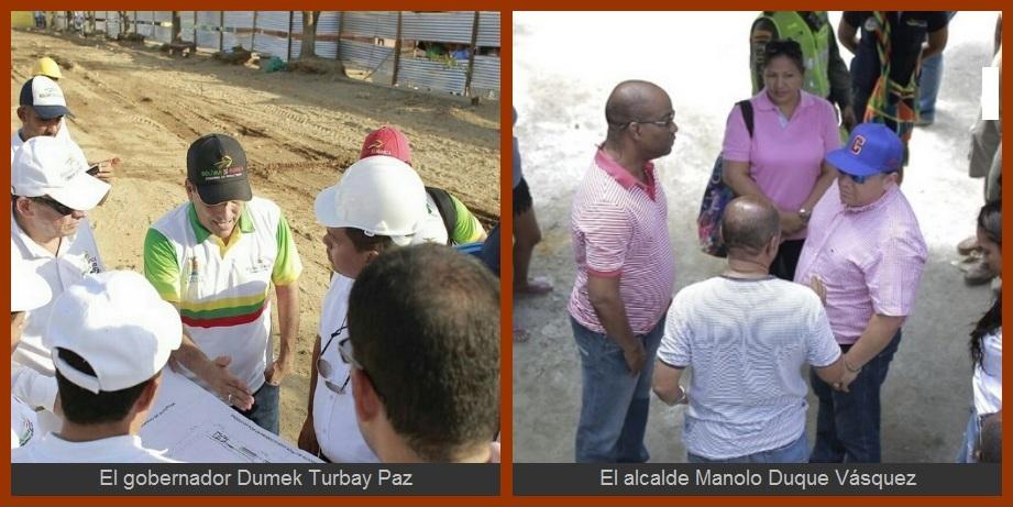 Obras contratadas por la Gobernación y el Distrito, supervisadas con lupa…