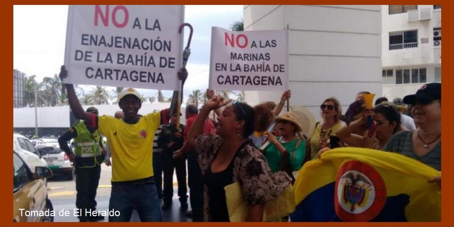 Comunidad 'abrazará' a la Bahía en señal de rechazo a construcción de marinas