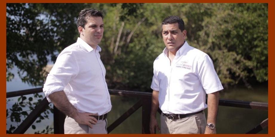 Simón Gaviria y Dumek Turbay, 'en llave' para impulsar el desarrollo de Bolívar