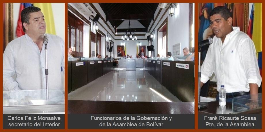 Gobernación y Asamblea de Bolívar, unidos en pro de «seguir avanzando»