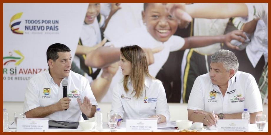 El Departamento de Bolívar, camino a convertirse en modelo educativo en el país