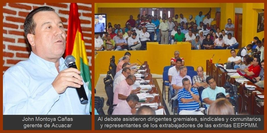 Dos años después de firmada, prórroga a Acuacar será 'revisada' por la Contraloría