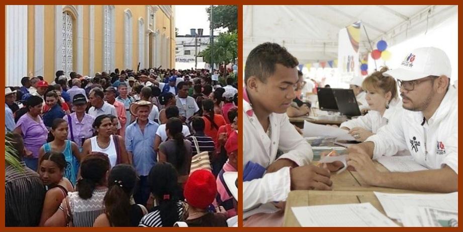 En la Feria del Servicio Ciudadano, 87 entidades estatales atendieron a los montemarianos