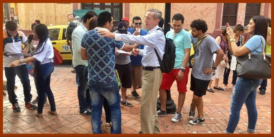 Instalan en Cartagena grupos promotores de la campaña 'Vence al Corrupto'