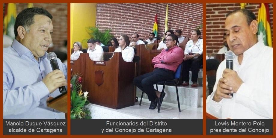 Duque y Montero, en modo 'unidad' durante instalación de sesiones ordinarias