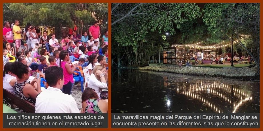 El Parque del Espíritu del Manglar, un mágico lugar para el disfrute de toda la ciudadanía