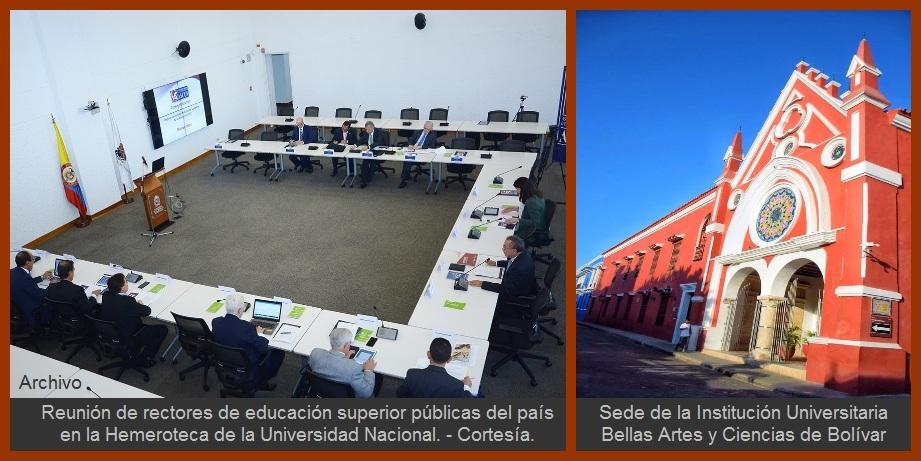 Viceministra de Educación Superior y rectores de universidades públicas se reúnen en Unibac