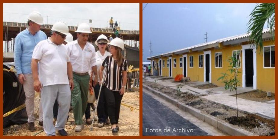 Construcción de viviendas para familias de bajos ingresos, en alza en Cartagena y Bolívar