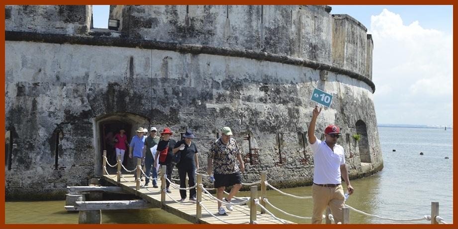 Baluartes y murallas, entre los atractivos de Cartagena más visitados en Semana Santa