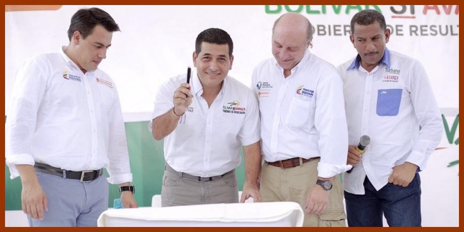 Gobiernos Nacional y Departamental firman 'Convenio Marco de Seguridad Vial' para Bolívar