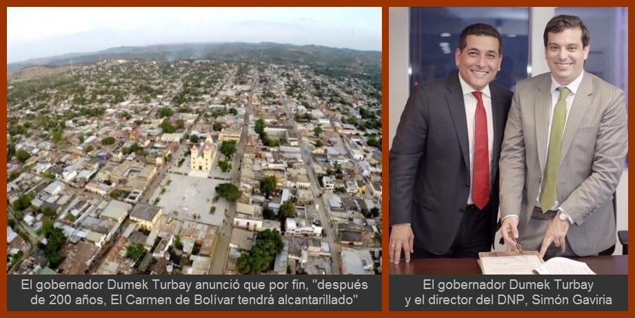 Con una inversión de $61 mil millones, El Carmen de Bolívar tendrá por fin alcantarillado