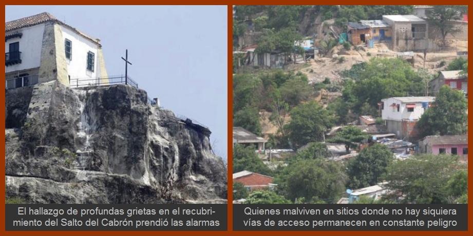 Gobierno y sociedad civil, a unirse ante el latente riesgo de una avalancha en Cartagena
