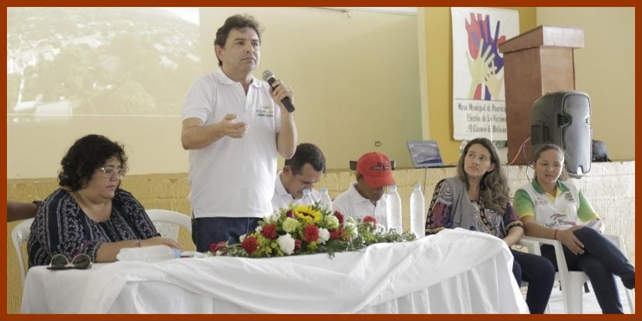 Bolívar conmemoró el Día Nacional de la Memoria y la Solidaridad con las víctimas