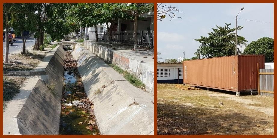 La comunidad del barrio El Socorro insiste en que no quiere otro 'puente mocho'