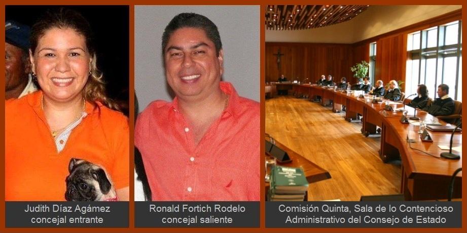 Cierran «acciones dilatorias» de Ronald Fortich y abren puertas a posesión de Judith Díaz