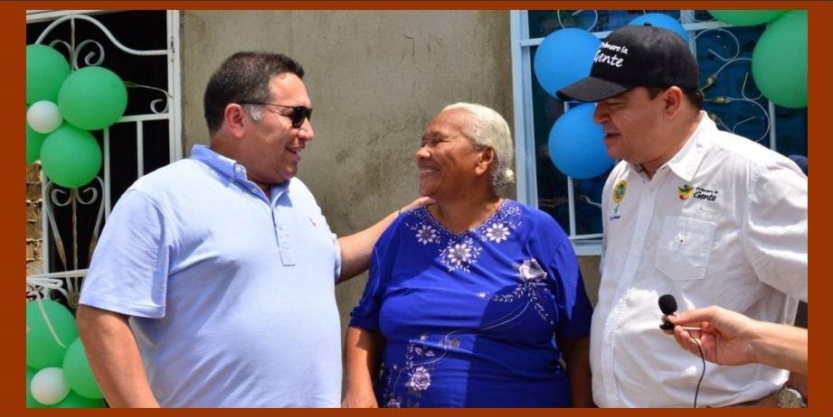 En el Día de las Madres, Corvivienda entrega casa refaccionada a humilde cartagenera