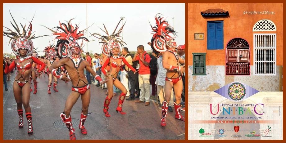 Desde hoy, y hasta el 31 de mayo, 10° Festival de las Artes en Cartagena de Indias